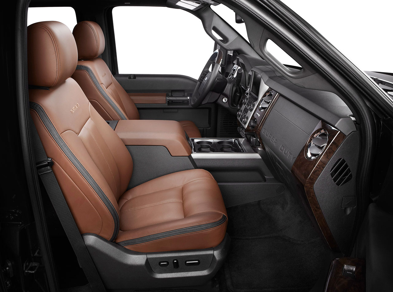 More Luxurious Than Ever: 2013 Ford F-Series Super Duty to Offer