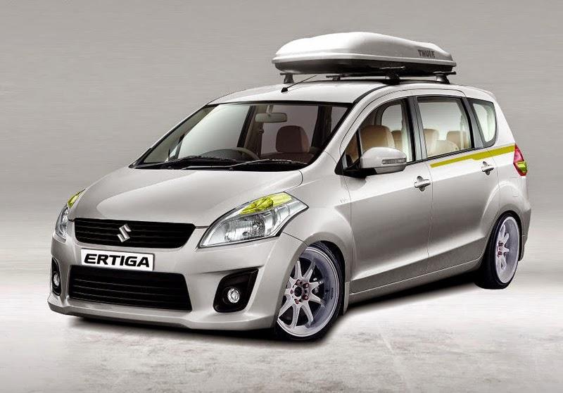 Modifikasi Mobil Suzuki Ertiga Ceper