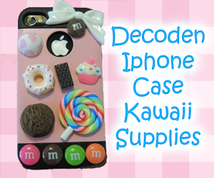 Decoden Iphone Case Kawaii Supplies