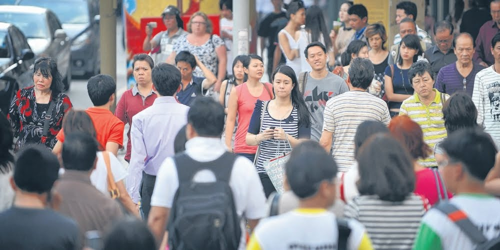 quick to criticise foreigners' bad behaviour but slow to notice good actions
