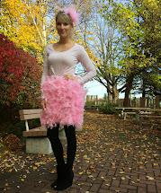 Pink Flamingo Halloween Costume DIY