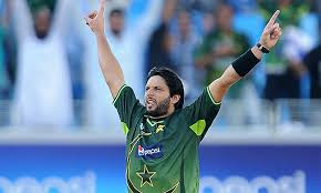 Afridi declared Man of the match for his 76 runs and 7 wickets