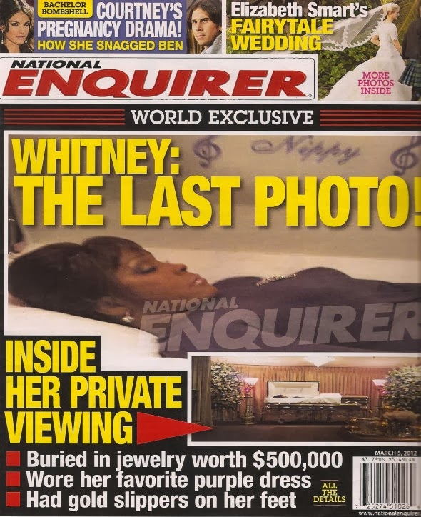 Celebrity Dead Body Photos Whitney houston dead body