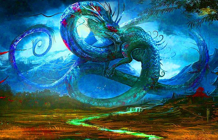 8. ASTRAL RAINBOW DRAGON