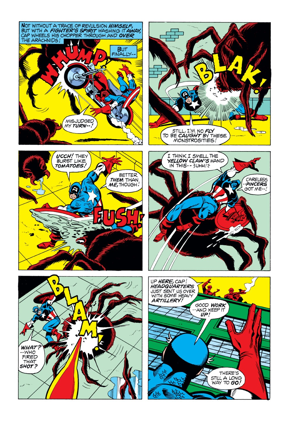 Captain America (1968) Issue #165 #79 - English 13