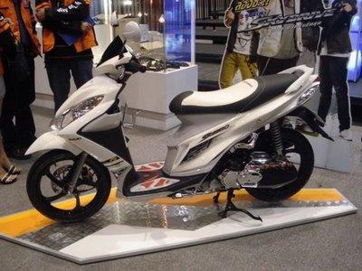 Suzuki SkyDrive-Những xe tay ga dưới 30 triệu