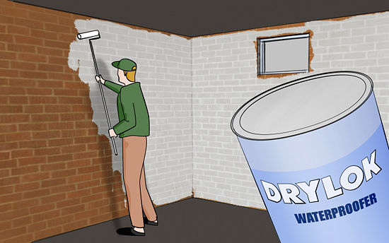 Etonnant Try To Waterproof Your Walls With A Product Such As Drylok Or Xypex If You  Have Minor, Intermittent Leaks. Drylok Is A Waterproofer Not A Water Sealer.