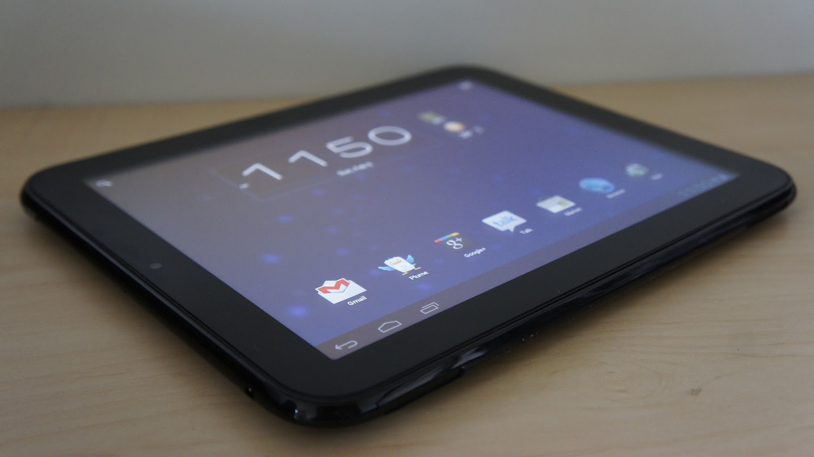 how to open hp touchpad