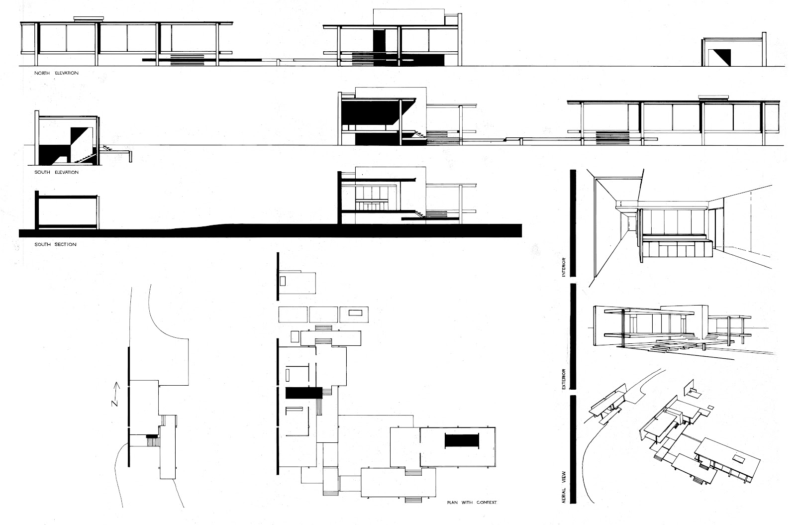 Farnsworth House By Mies Van Der Rohe Historic Design