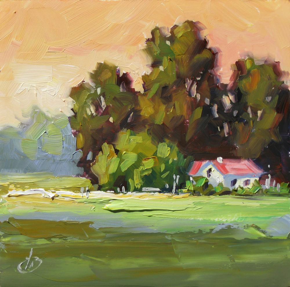 Tom brown fine art 1 auction my summer studio sale for Original fine art paintings for sale