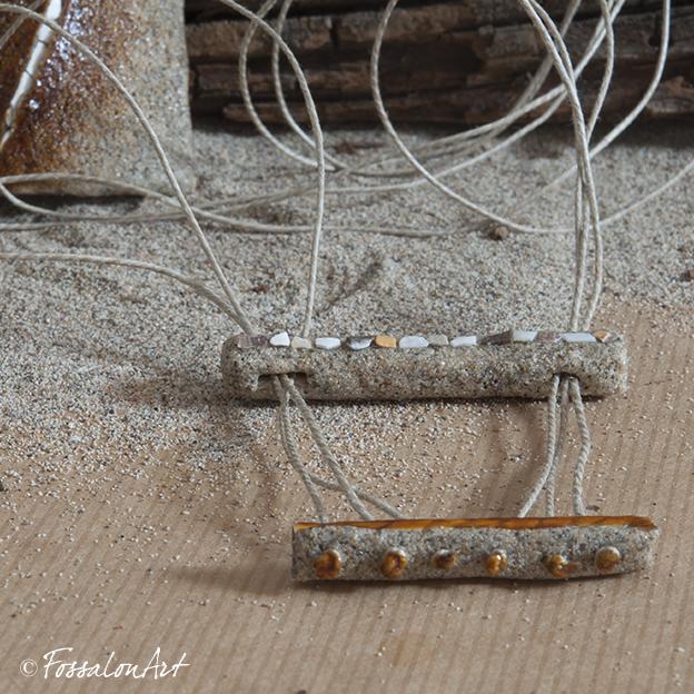 Una crepa nella sabbia - dettaglio della chiusura