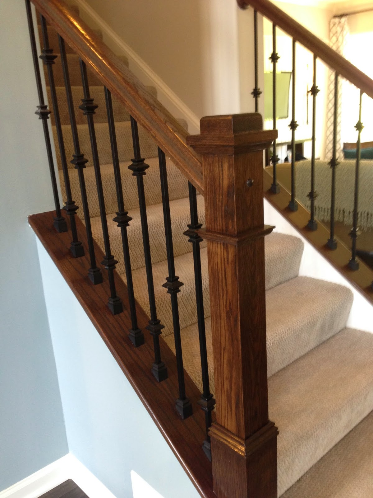 Wood Iron Railings : The ung house