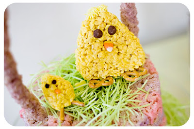 Rice Krispie Chicks