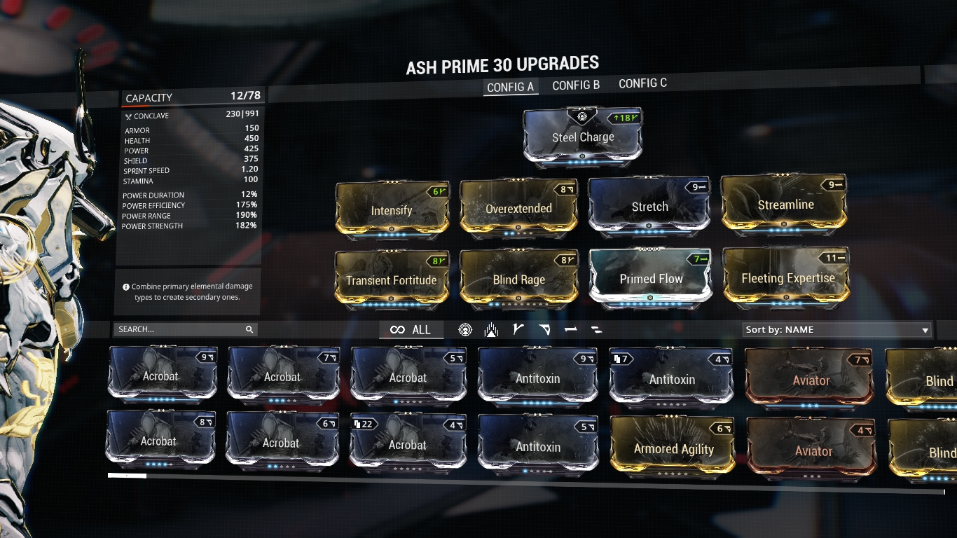 Warframe Nikana Prime Build Fr