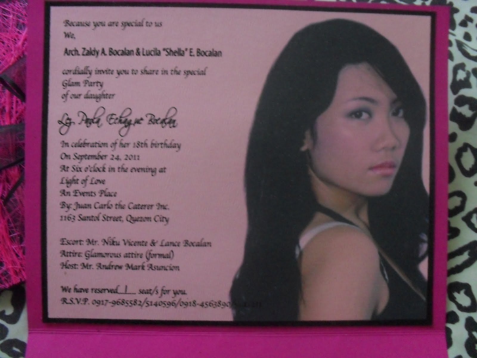 Wild and fierce paolas 18th glamorous debut isnt she pretty loove her stopboris Choice Image