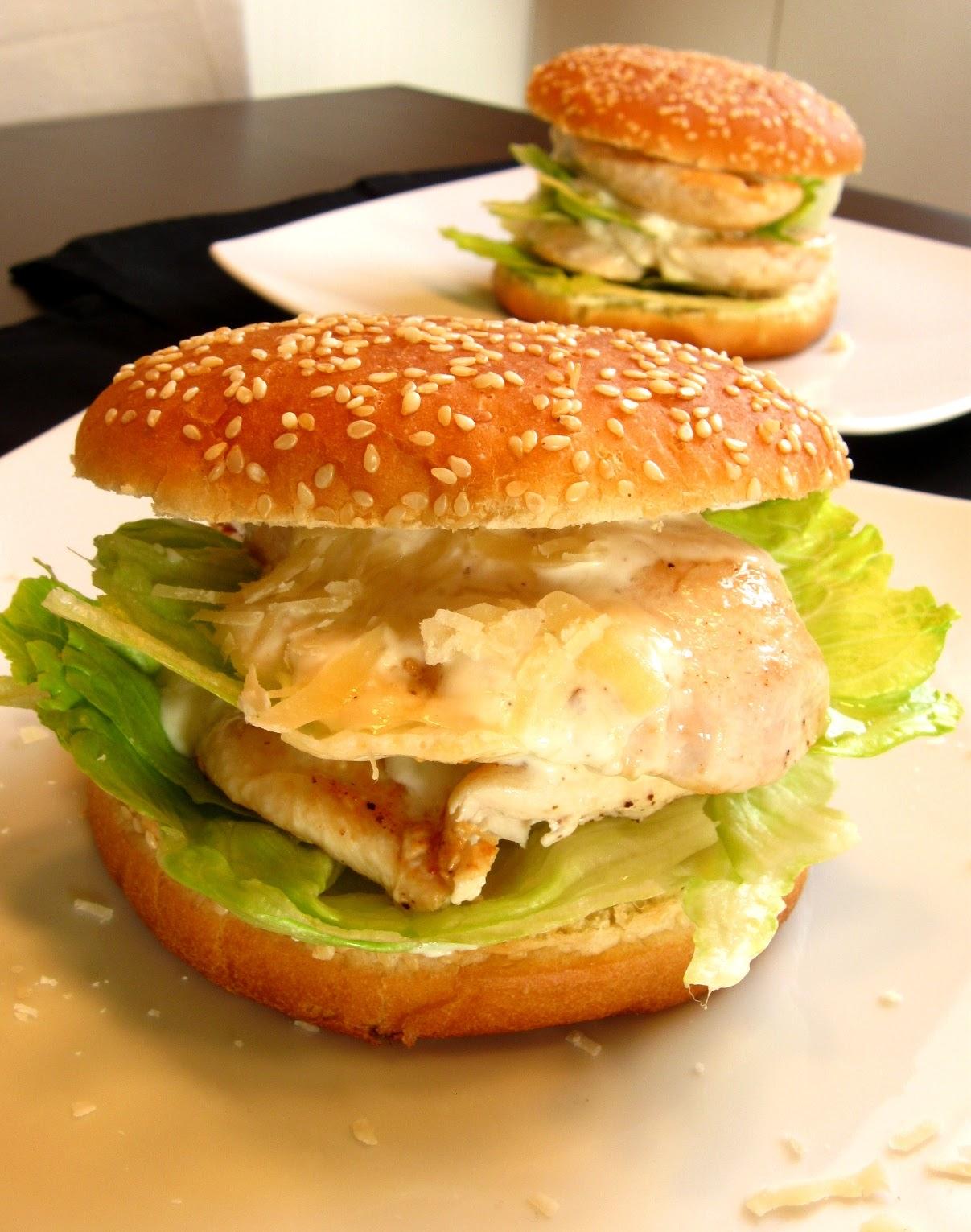 Küchenzaubereien: Caesar Salad Burger
