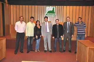 Representantes estudantis do curso de Direito do UNIFESO tomam posse