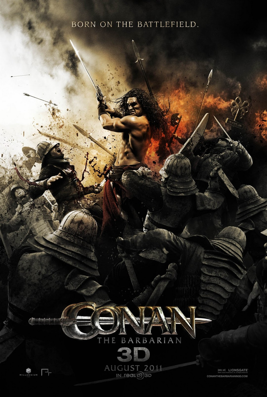 Jason Momoa Conan The Barbarian Poster