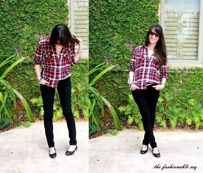 styling tartan for fall
