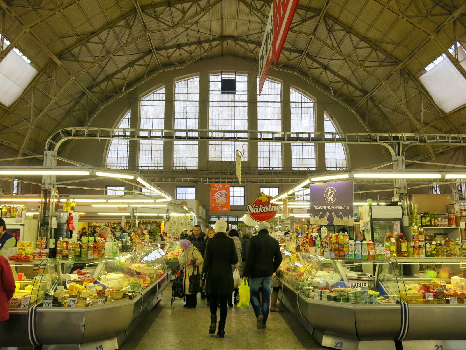 Central Market i Riga