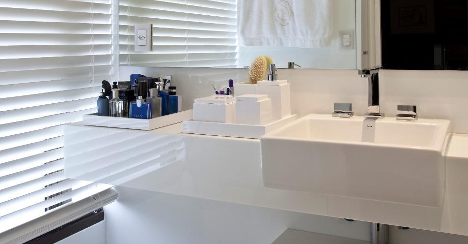 40 Bancadas de banheiroslavabos – veja modelos modernos e maravilhosos!  De -> Banheiros Modernos Atuais