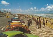 Antigo Postal da Praia de Atalaia, em Aracaju, Anos 60