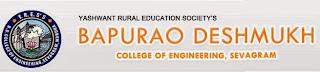 BAPURAO DESHMUKH COLLEGE OF ENGINEERING Nagpur Oct 2013