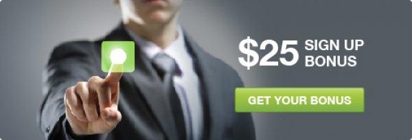 $25 No Deposit Bonus from Easy Forex