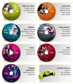 Zumba Exhilarate CD Chart