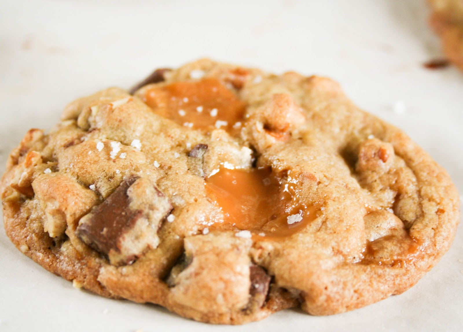 Salted Caramel Chocolate Chunk Cookies Recipes — Dishmaps
