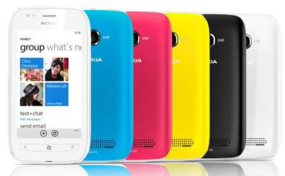 Nokia Lumia 710 image 02 Cómo configurar la pantalla de inicio de su Nokia Lumia 710
