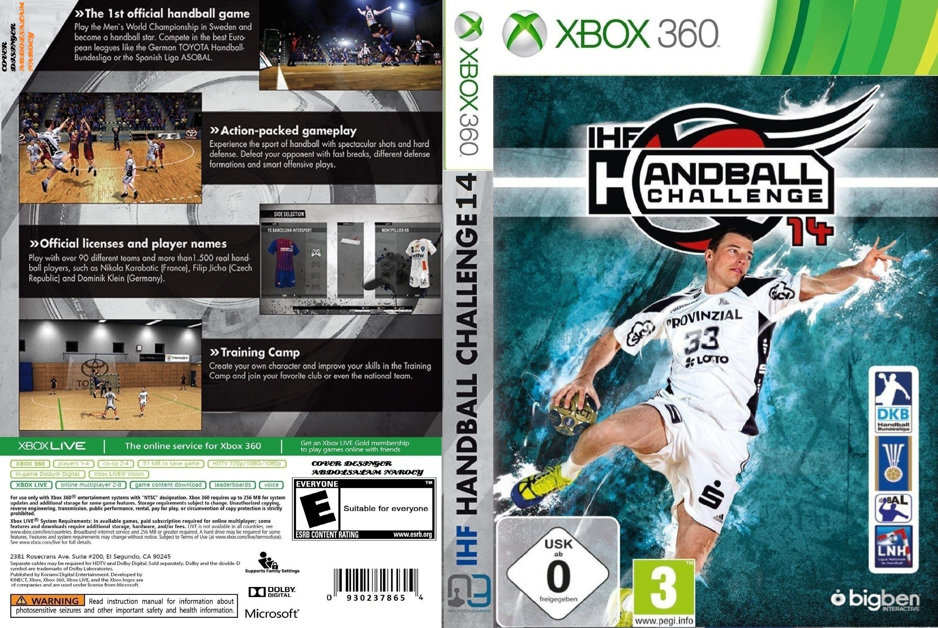 Capa IHF Handball Challenge 14 Xbox 360