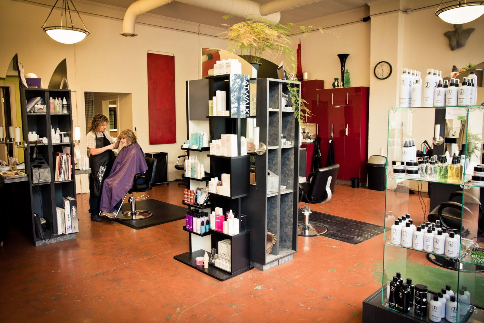 Modern Vintage Hair Salon - Viewing Gallery