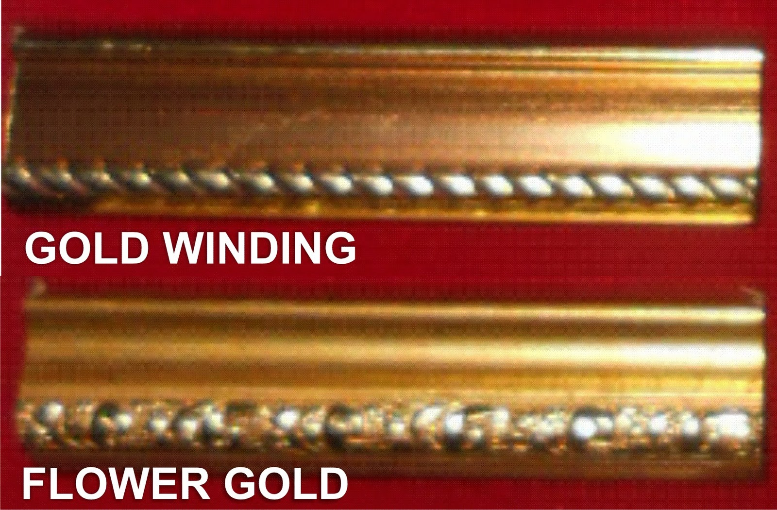 Mumiitu GOLD WINDING DAN FLOWER GOLD