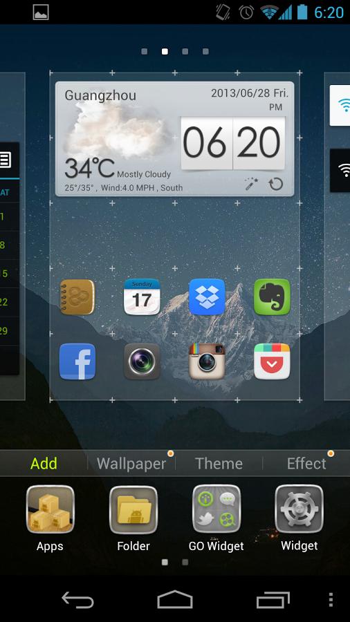 GO Launcher EX Terbaru