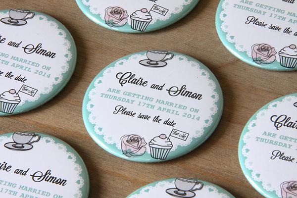 cupcake save the date