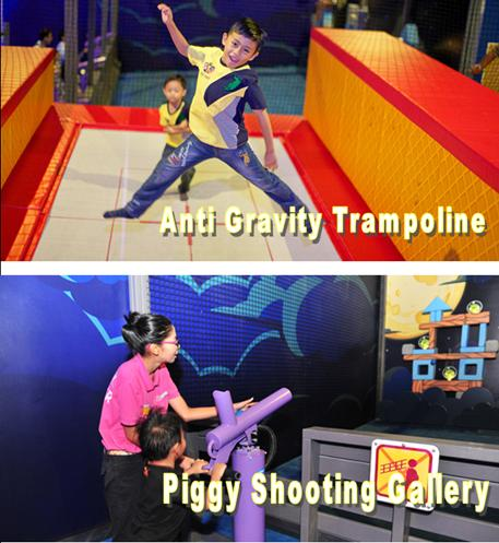 Angry Birds Activity Park - piggy shooting