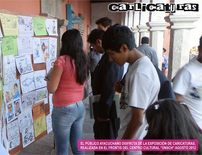 EXPOSICIÓN DE CARICATURAS