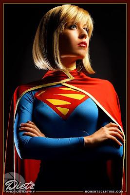 Scruffy Rebel Supergirl new 52 cosplay pic by Britt Dietz