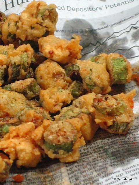 Bhindi Pakodi ~ Okra Fritters