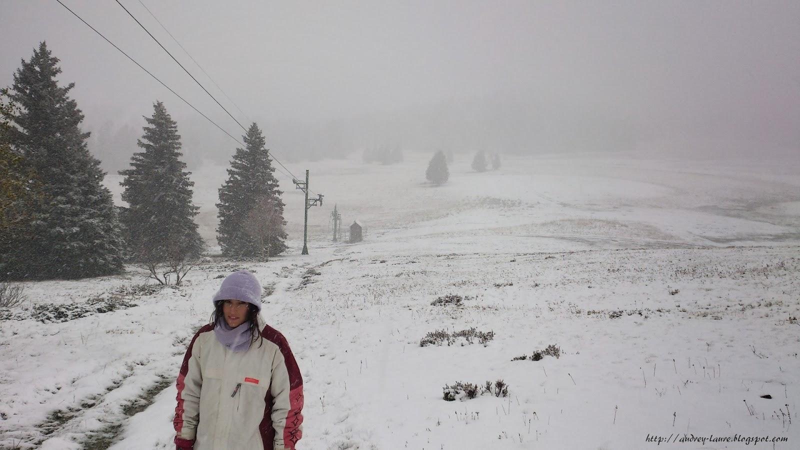 neige à chamrousse