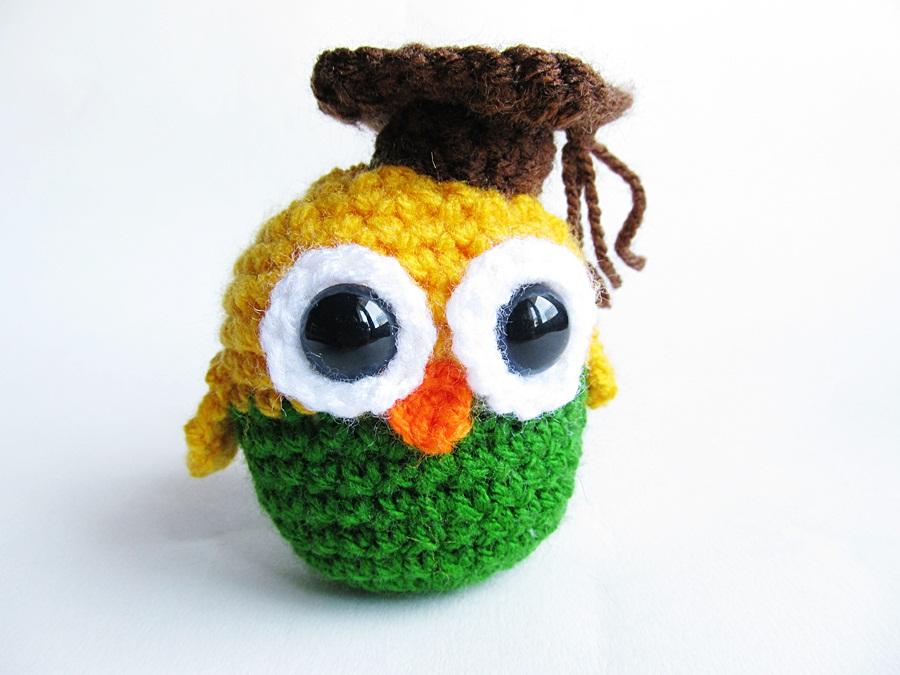 Amigurumi Owl Free Pattern : {Amigurumi Graduation Owl} - Little Things Blogged