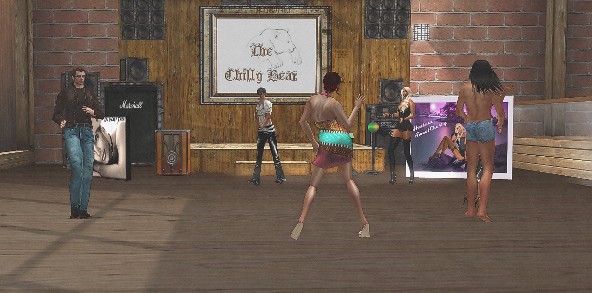 Dancing at The Chilly Bear