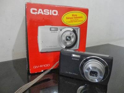 Jual Kamera Digital Bekas Casio QV-R100