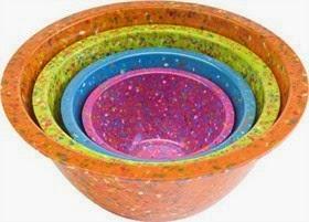 ZAKS confetti mixing bowls