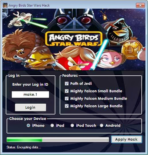 Angry Birds Star Wars 2 Hack Unlimited Coins/Money ...