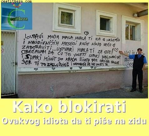 smiješna slika,pisanje po zidu