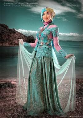 Model kebaya muslim modern terbaru saat ini