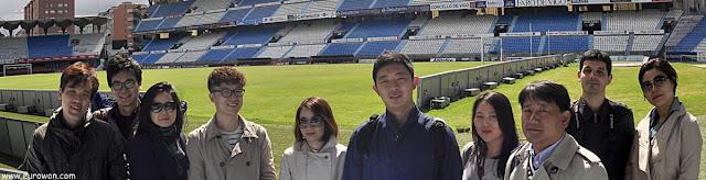FamTrip coreano en el Estadio de Balaídos