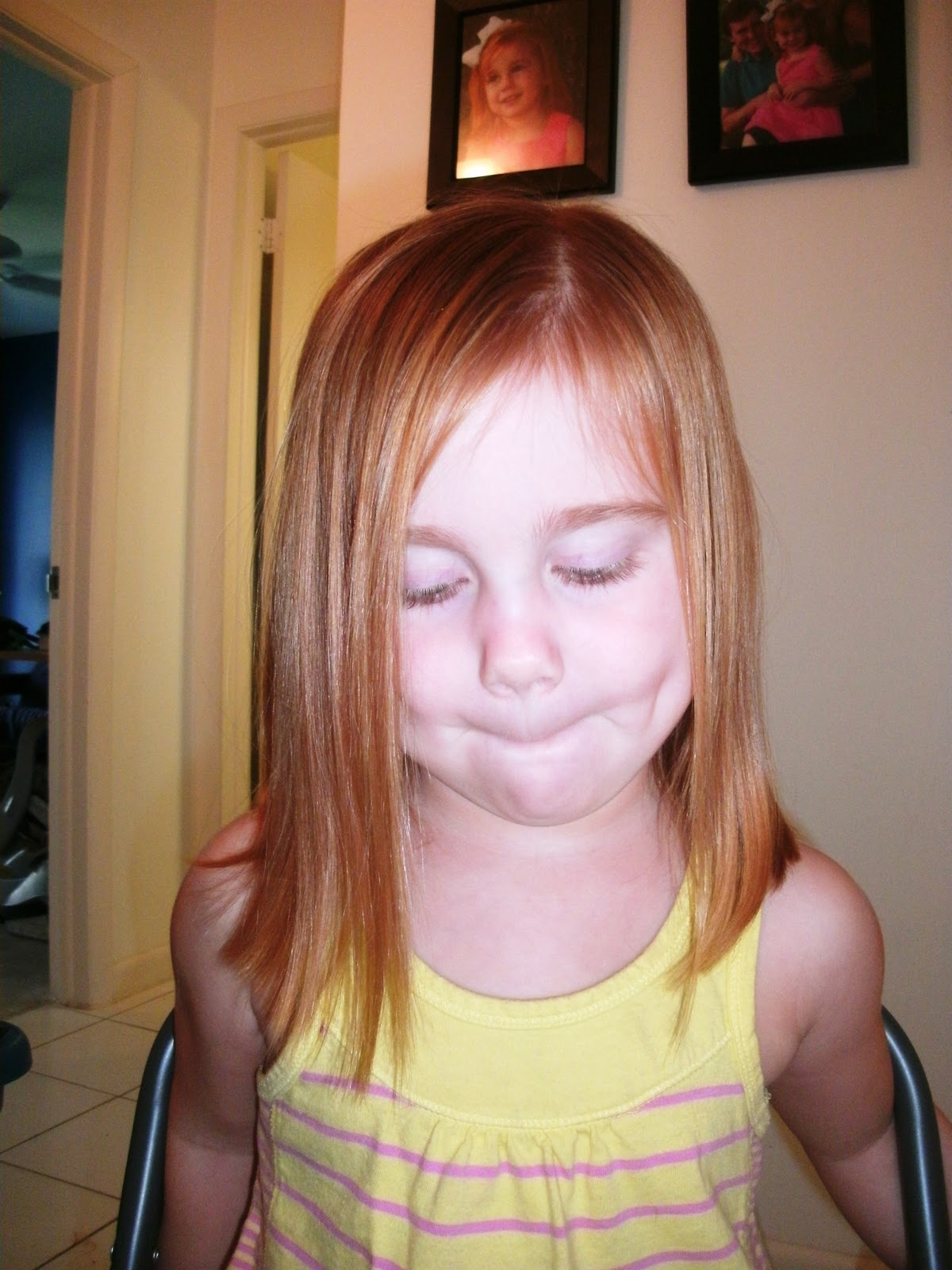 Isabelle's American Girl Haircut